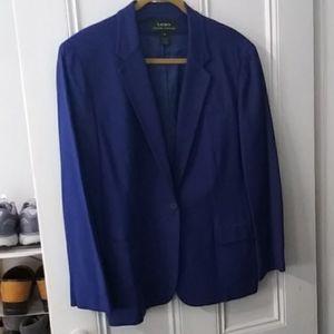 Ralph Lauren silk blazer 16